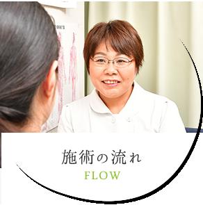 施術の流れ FLOW